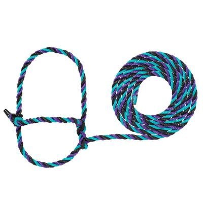 Cow Poly Rope Halter H36