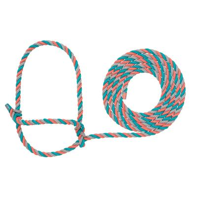 Cow Poly Rope Halter H38
