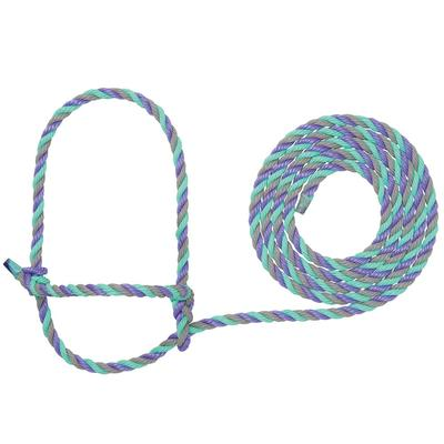 Cow Poly Rope Halter H39