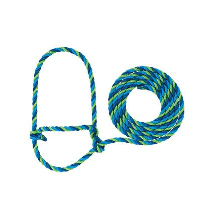 Cow Poly Rope Halter H5