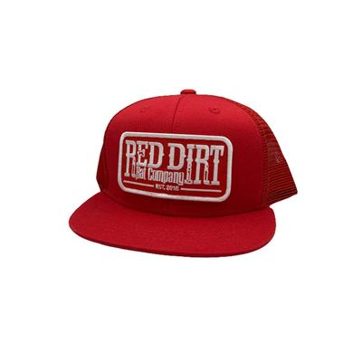 Red Dirt Hat Co.'s Youth Red Tag Patch Cap