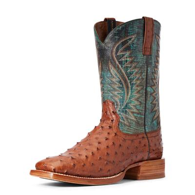 Ariat Men's Gallup Full Quill Ostrich Boots