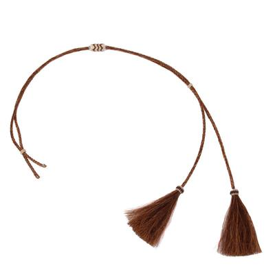 Austin Accent's Horsehair Stampede String Hat Band