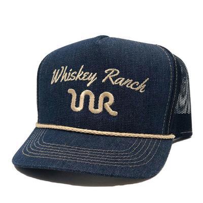 Whiskey Bent's Bull Hauler Denim Cap