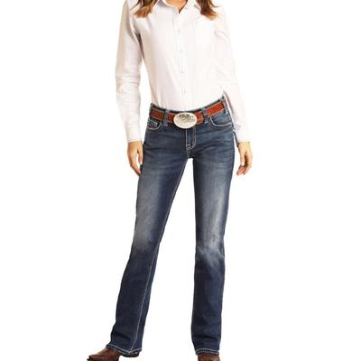 Rock&Roll Women's Extra Stretch Riding Jeans