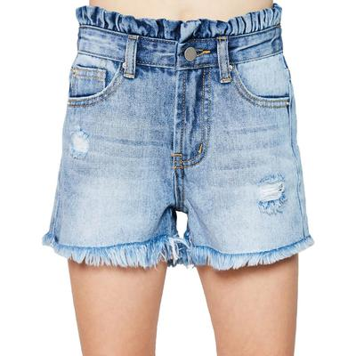 Hayden Girl's Distressed High Waisted Shorts