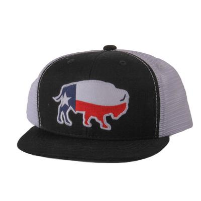 Red Dirt Hat Co.'s Youth Texas Buffalo Patch Cap