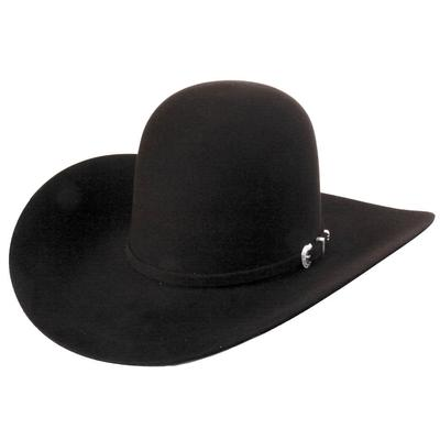 American Hat Co.Men's 7x Black Felt Hat