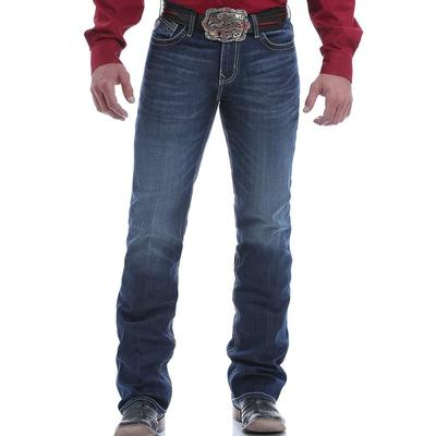 Cinch Men's Ian Mid Rise Slim Fit Dark Denim Fall Jeans