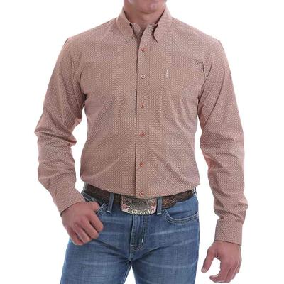 Cinch Men's Powdered Coral Button Down Shirt