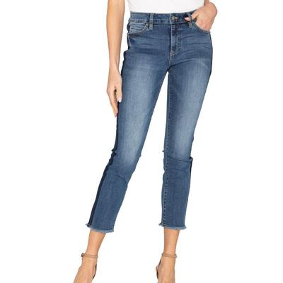 Miss Me Women's Cropped Straight Jeans