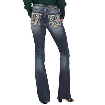 Miss Me Women's Night Dreams Bootcut Jeans
