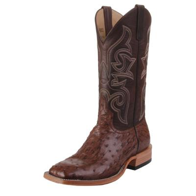 Horse Power Men's Full Quill Ostrich Western Boots