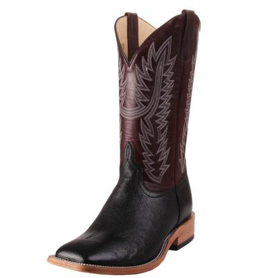 Horse Power Men's Smooth Quill Ostrich Western Boots