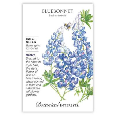 Botanical Interest Bluebonnet Seeds