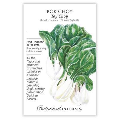 Botanical Interest Toy Choy Bok Choy Seeds