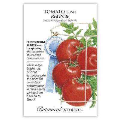 Botanical Interest Red Pride Bush Tomato Seeds
