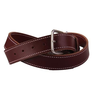 Men's Burgundy Latigo Belt