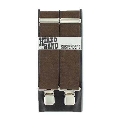 Nocona Men's Brown 48 inch Suspenders