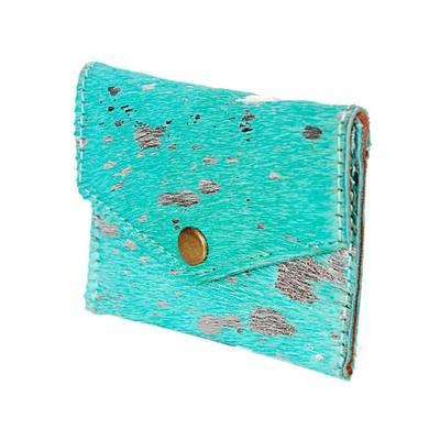 American Darling Turquoise Hair On Pouch