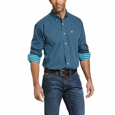Ariat Men's Ivy League Lager Wrinkle Free Casual Button Down