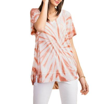 Kori Women's Basic Tie Dye Top