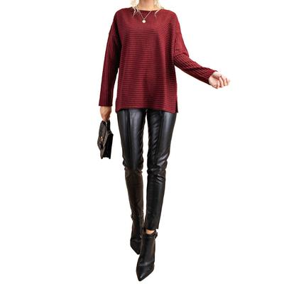 Kori Women's Mock Neck Dolman Sleeve Sweater