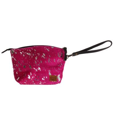 American Darling Hair On Pink Pouch