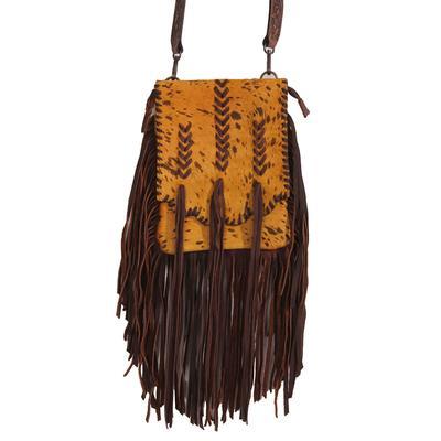 American Darling Rustic Leather Tassel Bag