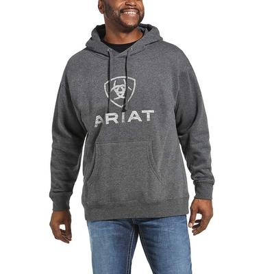 Ariat Men's Rough Grain Logo Hoodie