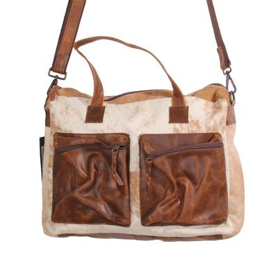 American Darling Cowhide Briefcase
