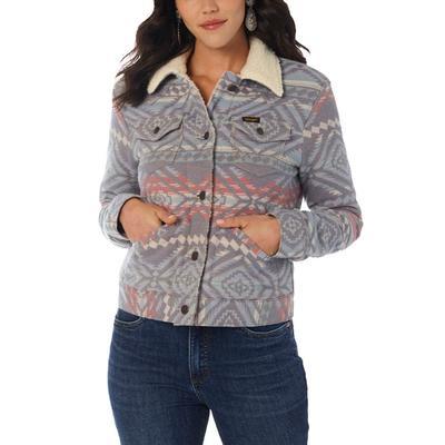 Wrangler Women's Heritage Jacquard Jacket