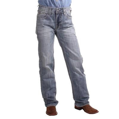 Rock & Roll Men's Double Barrel Relaxed Straight Leg Vintage Medium Jeans