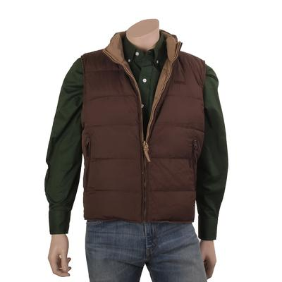 Resistol Men's Reversible Cowboy Down Vest
