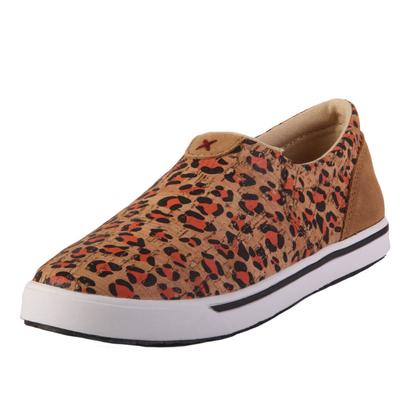 Twisted X Girl's Cheetah Slip On Shoes