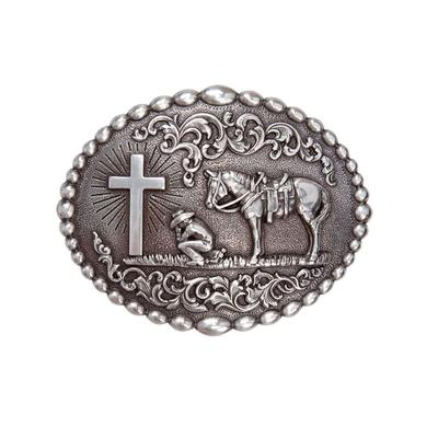 Cowboy Prayer Buckle