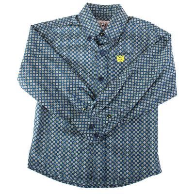 Cinch Toddler Long Sleeve Button Down Shirt