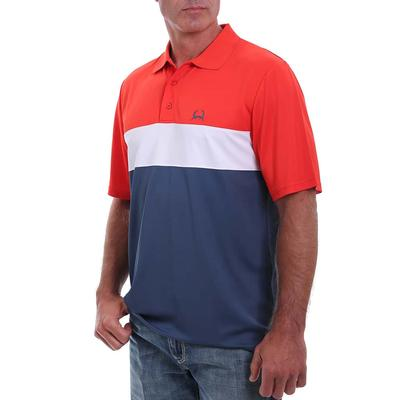 Cinch Men's Color block Polo