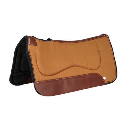Contoured Canvas Pad With Saddle Pad Protection