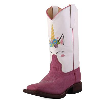 Macie Bean Youth Unicorn Pink Sinsation Boots