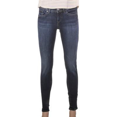 Silver Jeans Women's Suki Dark Wash Skinny Jeans