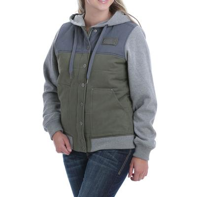 Cinch Women's Cotton Twill Canvas Hoodie Jacket