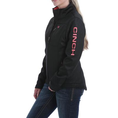 Cinch Women's Black Concealed Carry Bonded Jacket