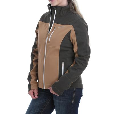 Cinch Women's Tan Concealed Carry Bonded Jacket