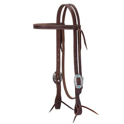 Working Tack Feather Designer Browband Headstall