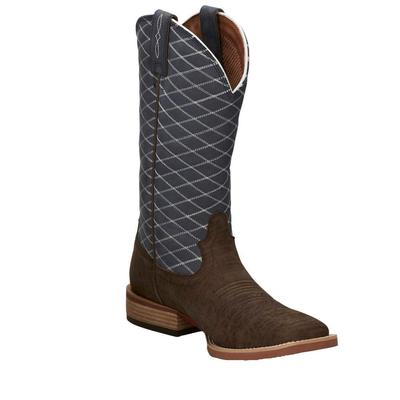 Justin Men's Cattler Chocolate Western Boots