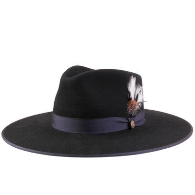 Stetson Women's Navy Midtown Felt Hat