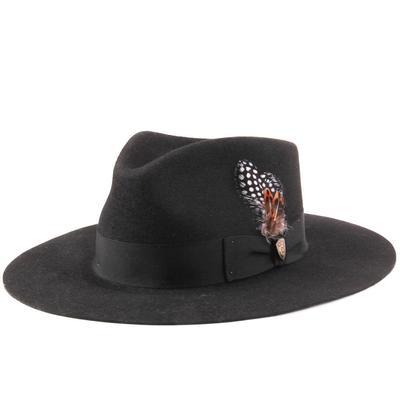 Stetson Women's Black Estate Felt Hat