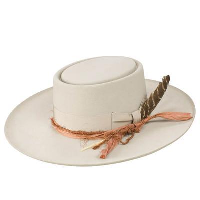 Stetson Women's Silver Kings Row Felt Hat