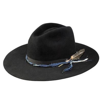 Stetson Women's Black Gage Felt Hat